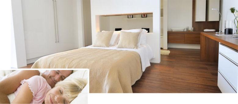 Gesunder Schlaf | Schlafzimmer und Dämmung, Lärmschutz, Bett